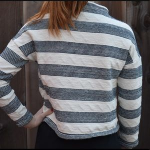 Anthropology Cropped Long-Sleeve